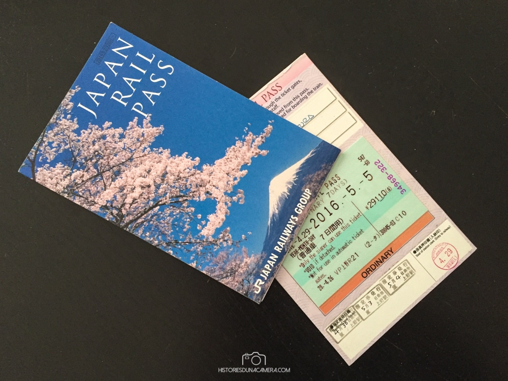 comprar la Japan Rail Pass