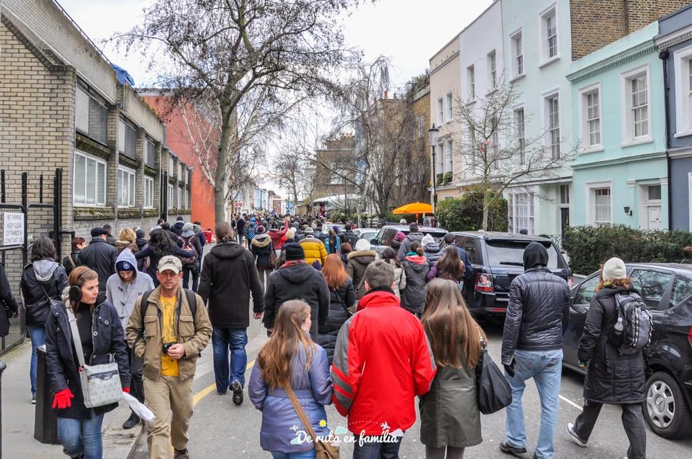 visitar mercat Portobello Market Londres