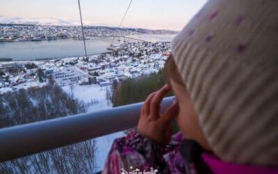 3 dies a Tromsø amb nens. Viatge a la capital àrtica de Noruega a l'hivern