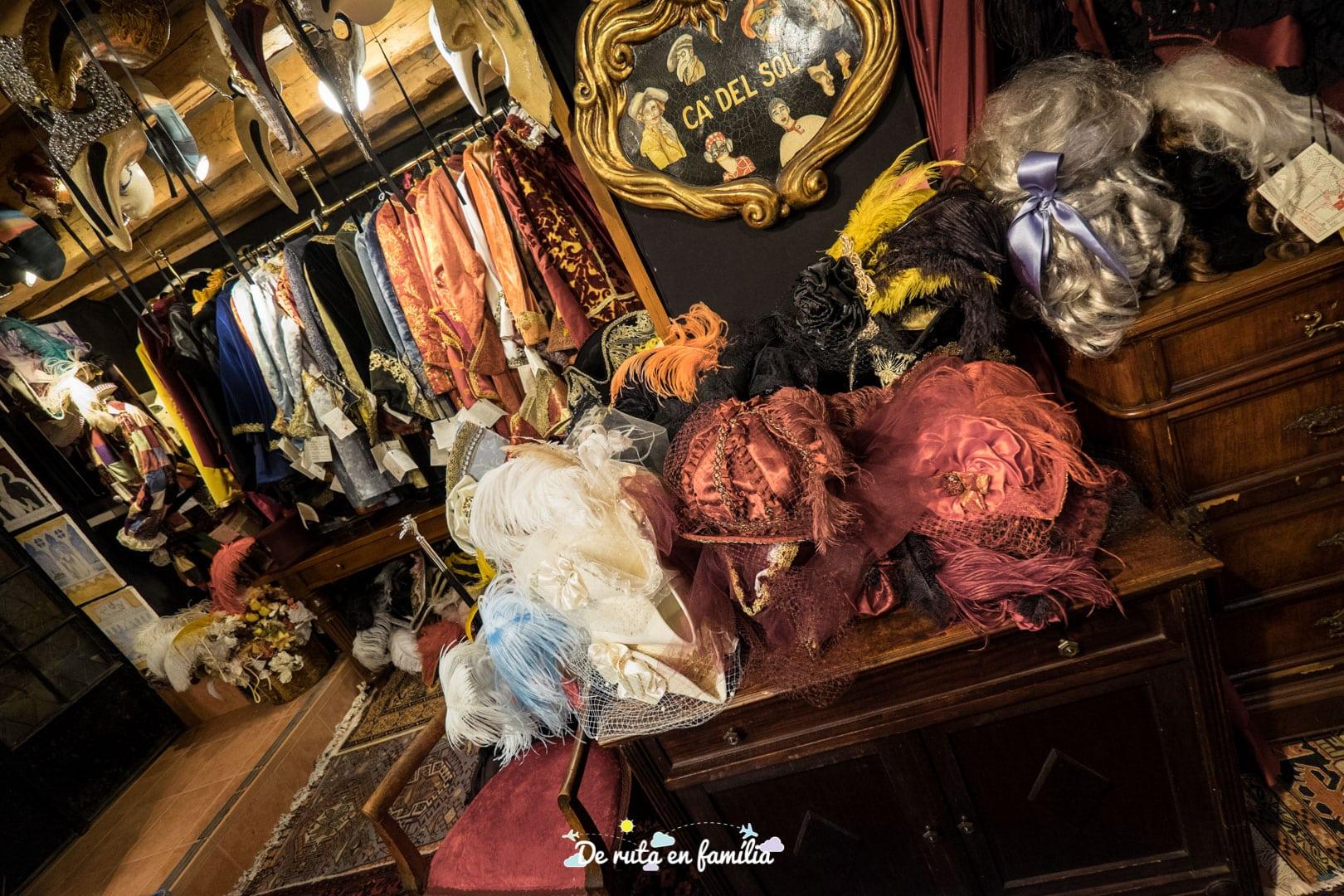 lloguer de disfresses pel carnaval de venecia
