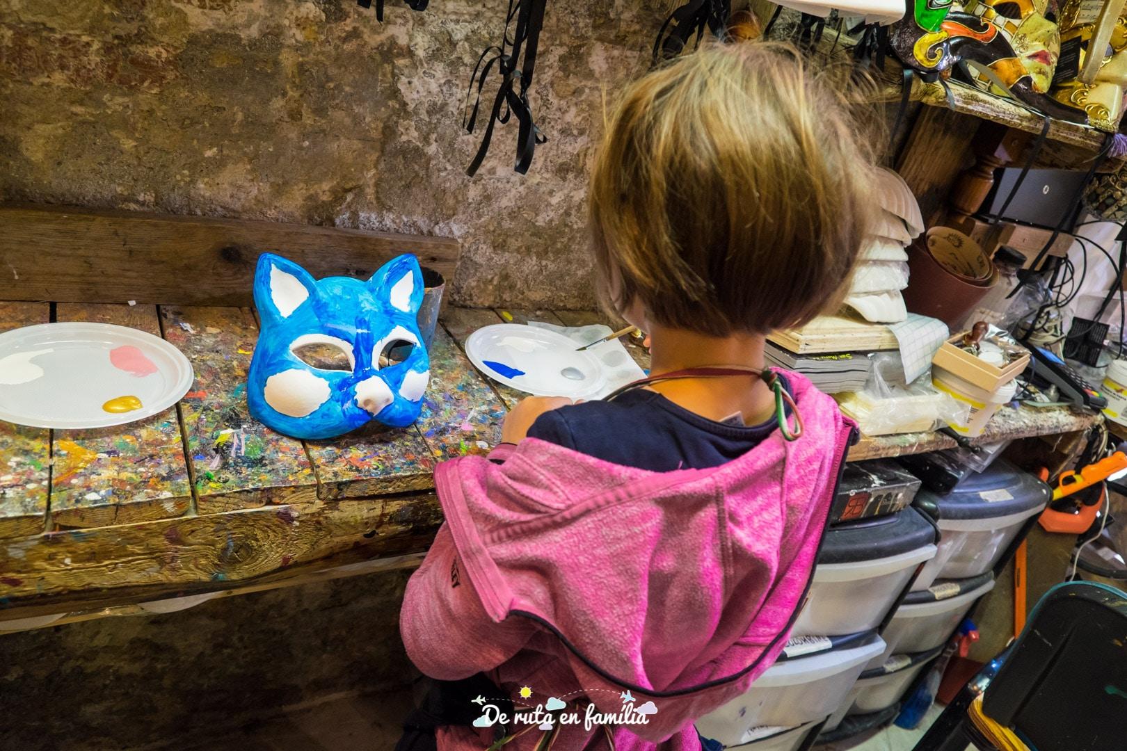 pintar mascares venecianes