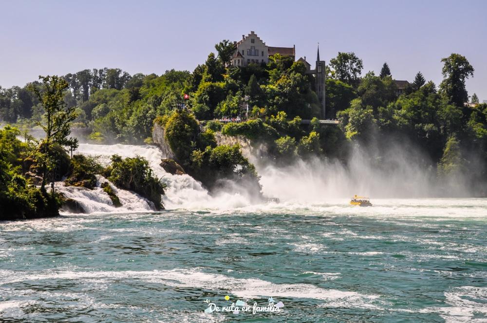cascades del rin schaffhausen des de Zurich