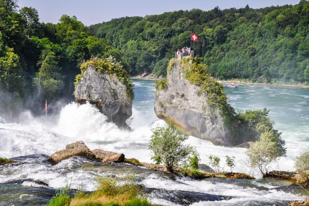 Excursió a les cascades del Rin en tren des de Zurich
