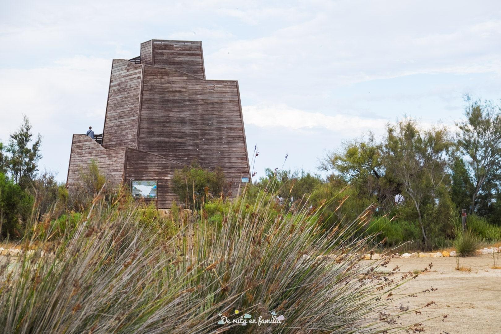 mirador del zigurat delta de l'ebre