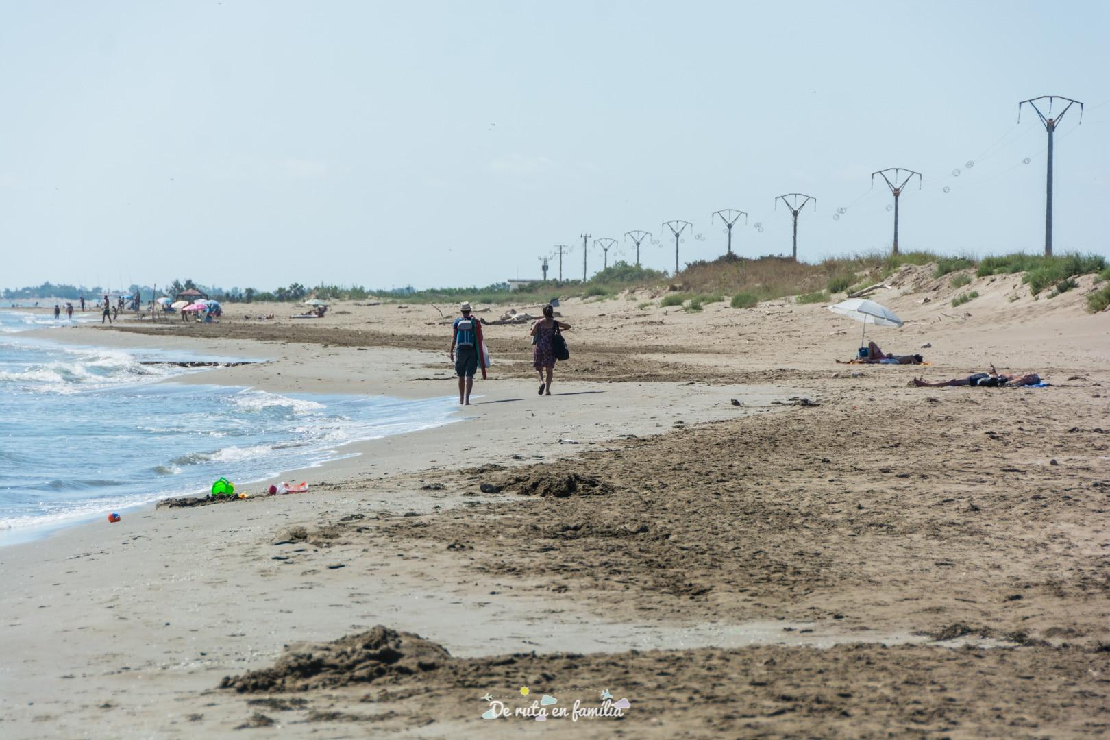 platja de la marquesa delta de l'ebre