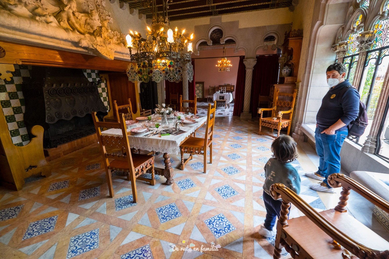 Casa Amatller. Cases singulars de Barcelona amb nens