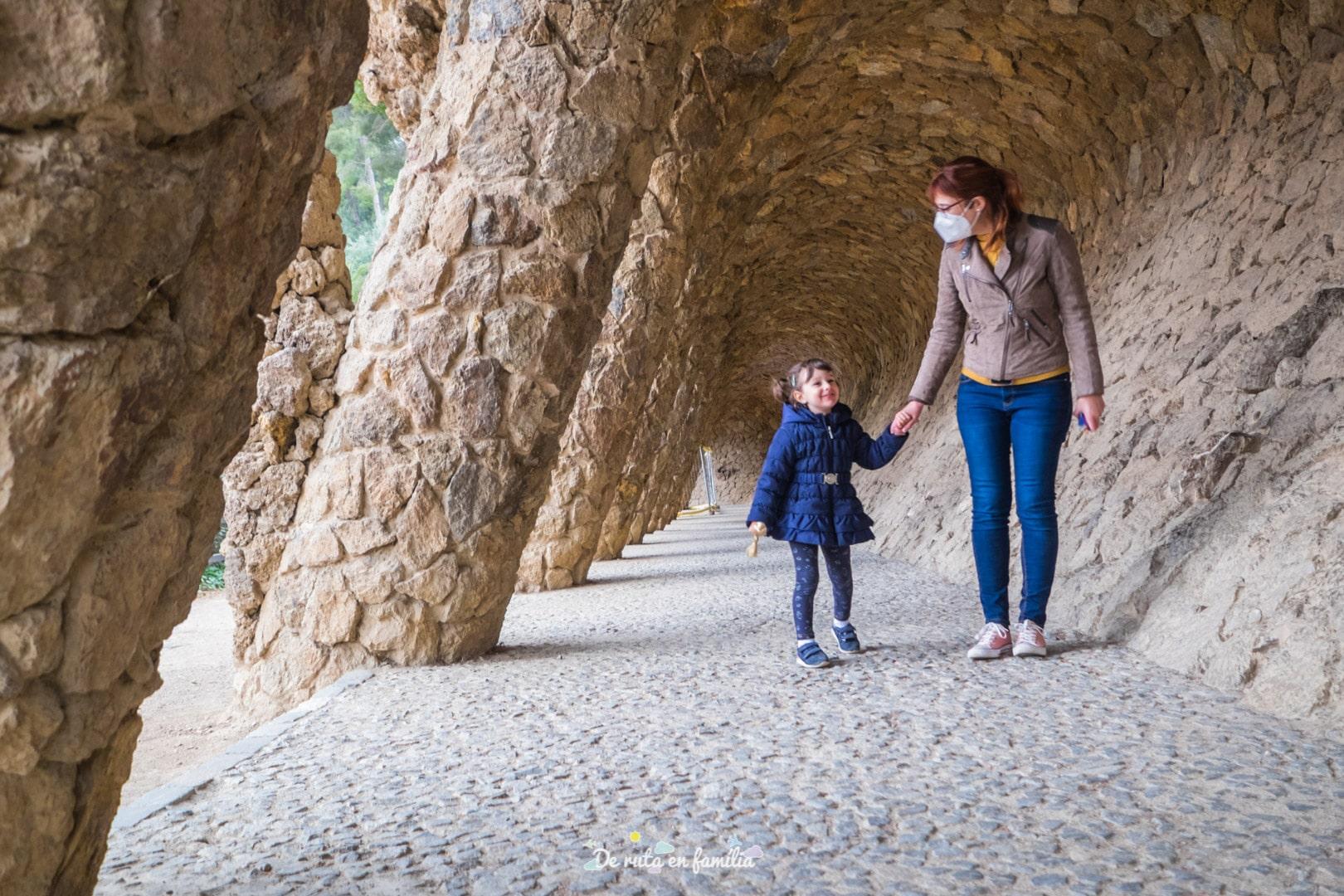 Barcelona amb nens. Park Güell de Barcelona