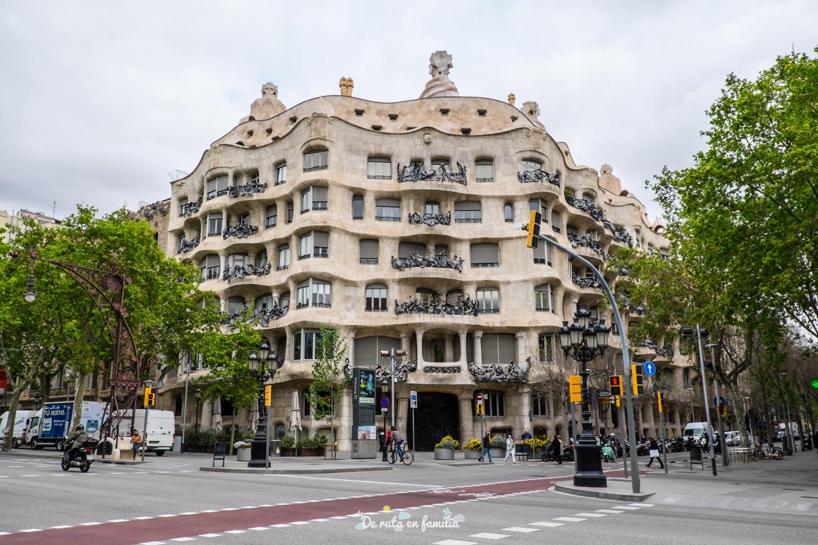 Barcelona amb nens. El Passeig de Gràcia