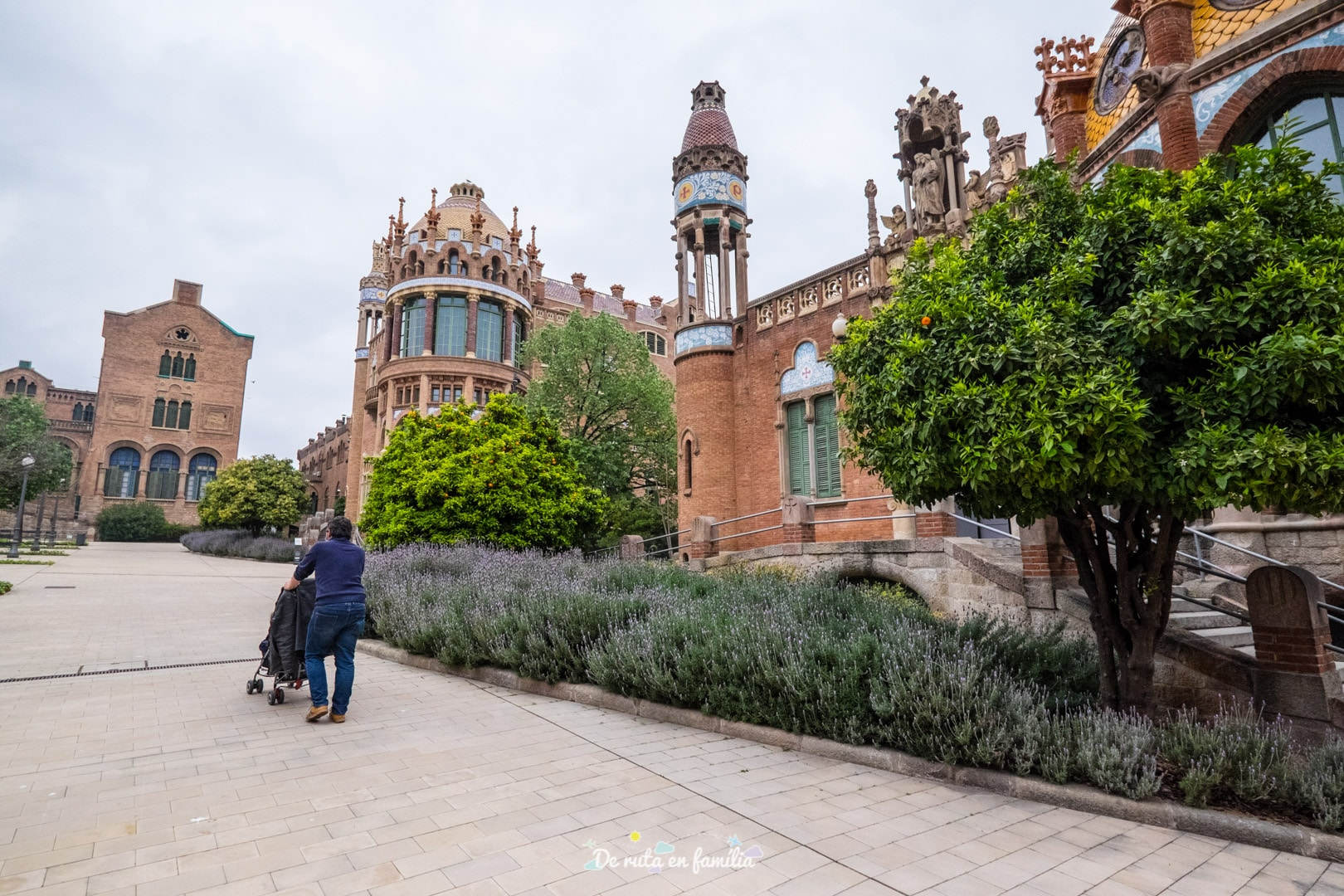 Barcelona amb nens. Recinte modernista de Sant Pau