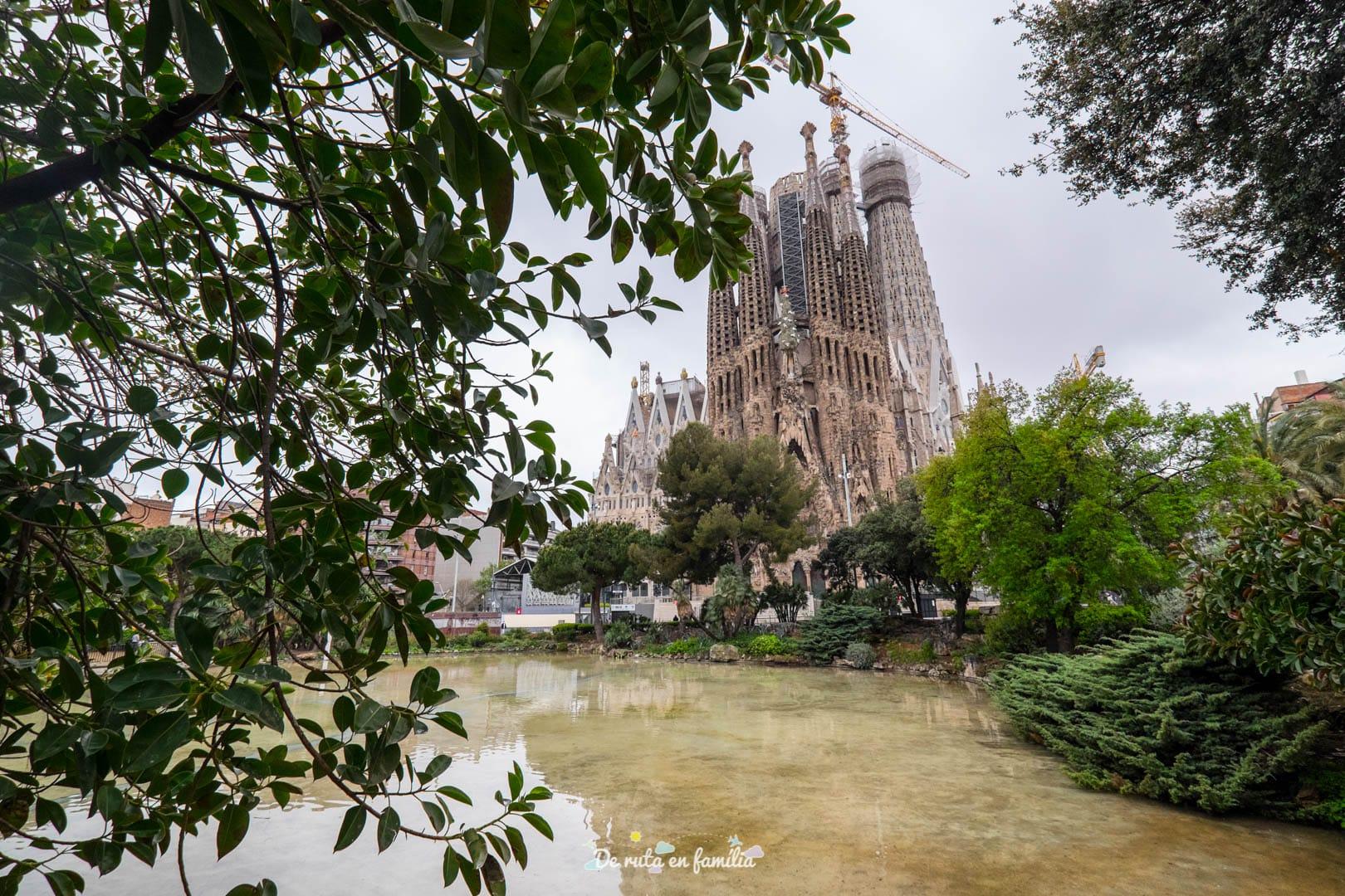 Barcelona amb nens. La Sagrada Família