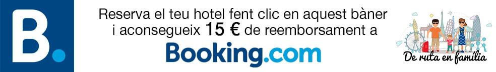 descompte Booking 15€