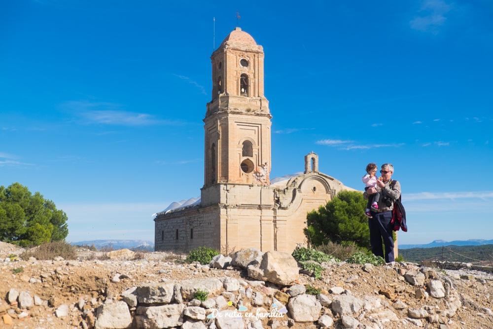 espais de la Batalla de l'Ebre poble vell de corbera