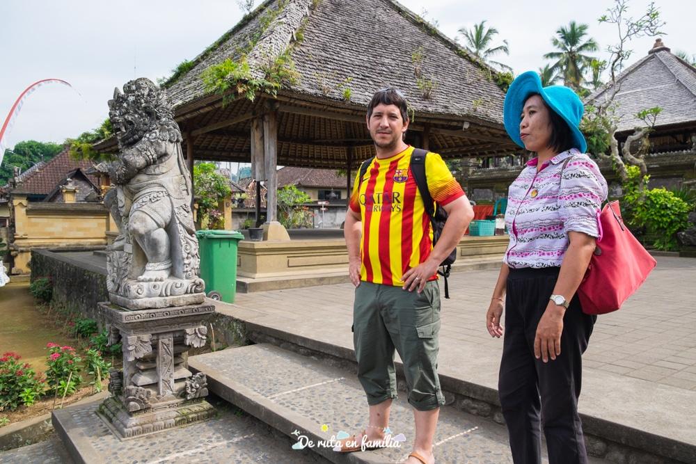 excursions privades en espanyol a Bali