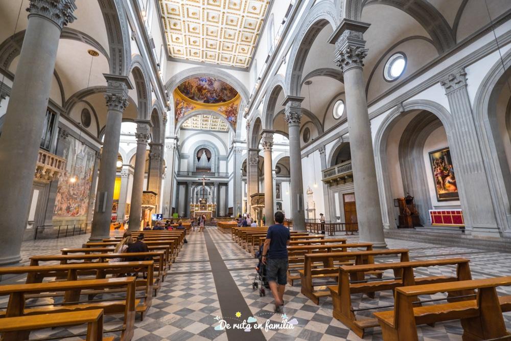 florencia en 2 dies basilica de Sant Llorenç