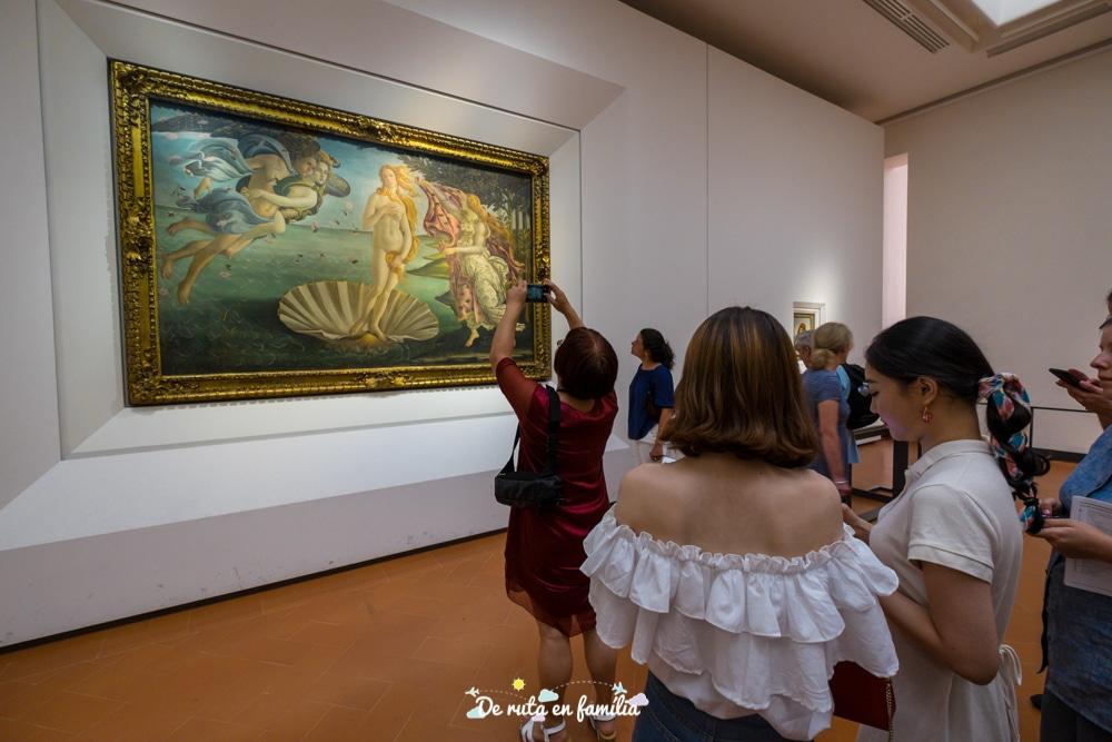 florencia en 2 dies Gallerie degli Uffizi