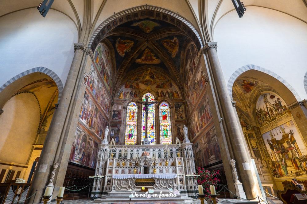 florencia en 2 dies Santa Maria Novella