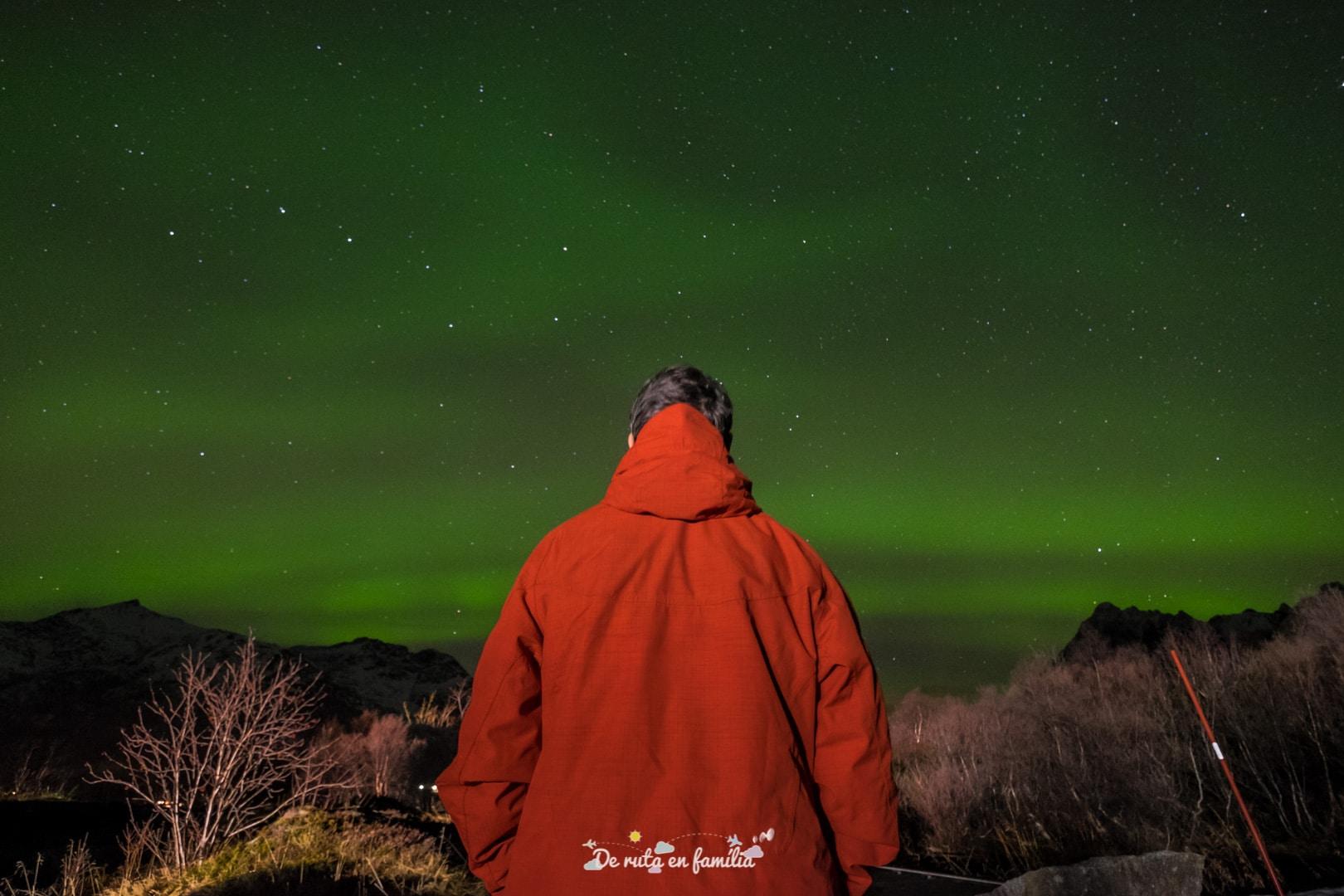 fotografiar aurores boreals