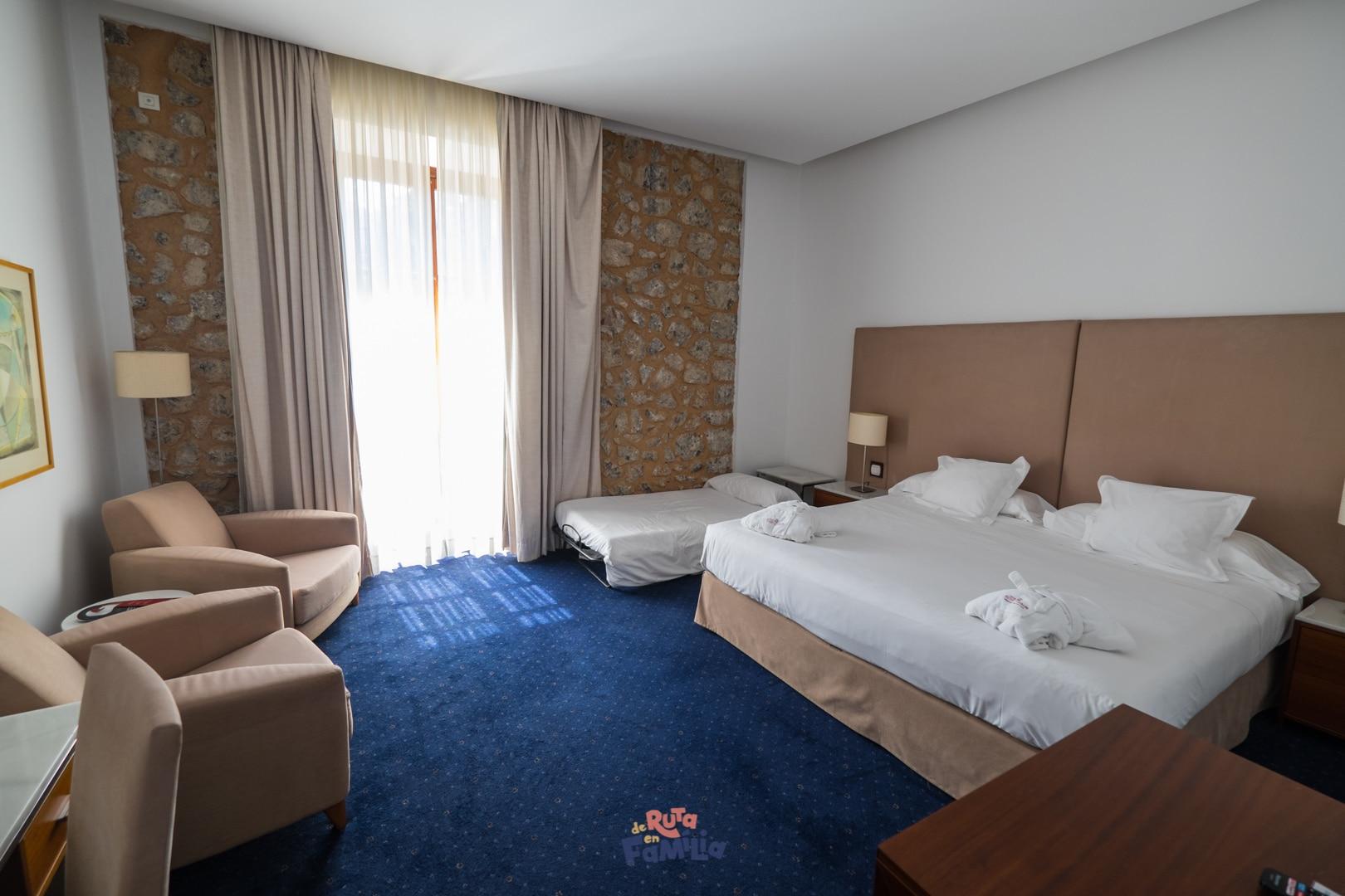 habitación doble deluxe Gran Hotel Sóller