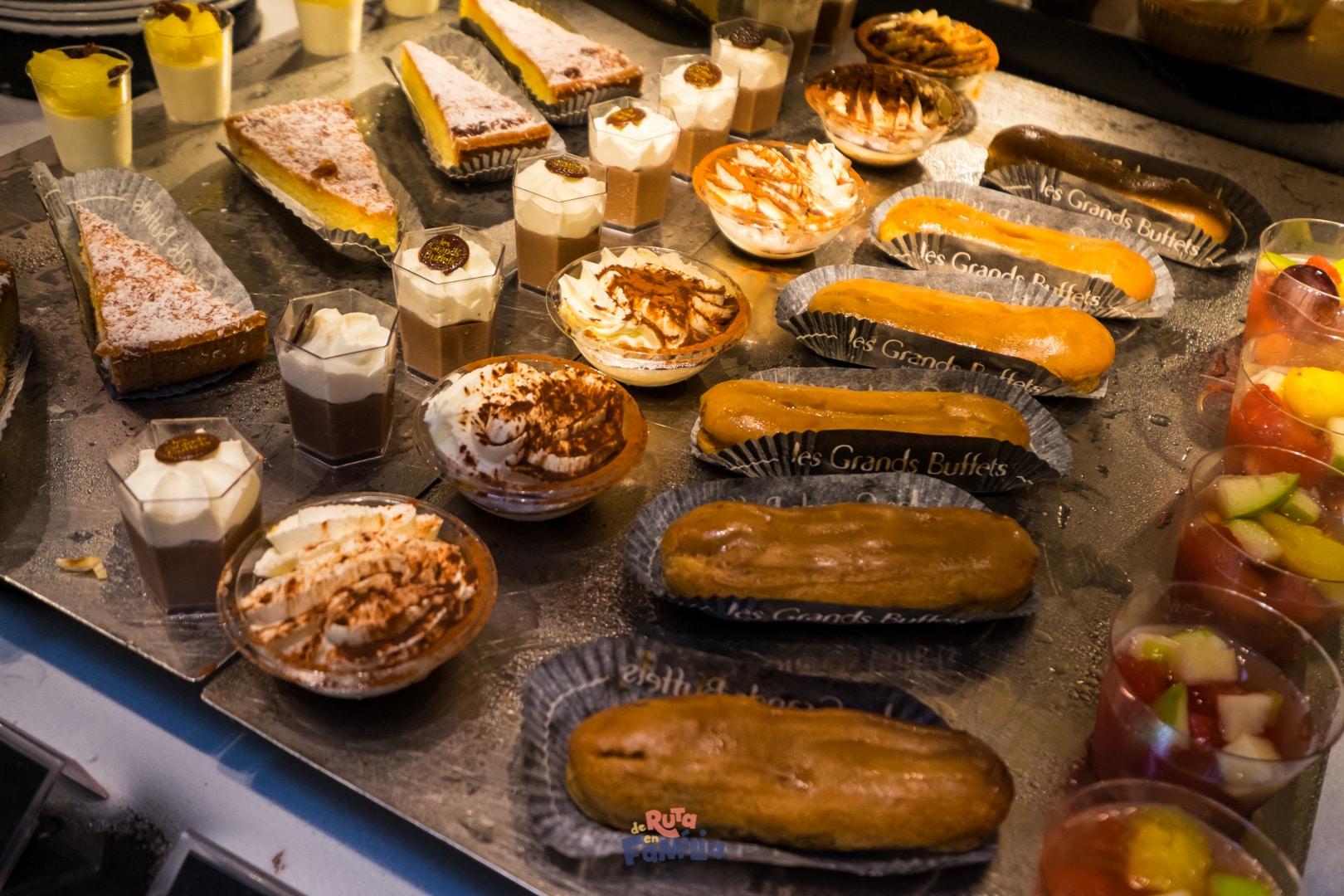 postres a les grands buffets de narbona