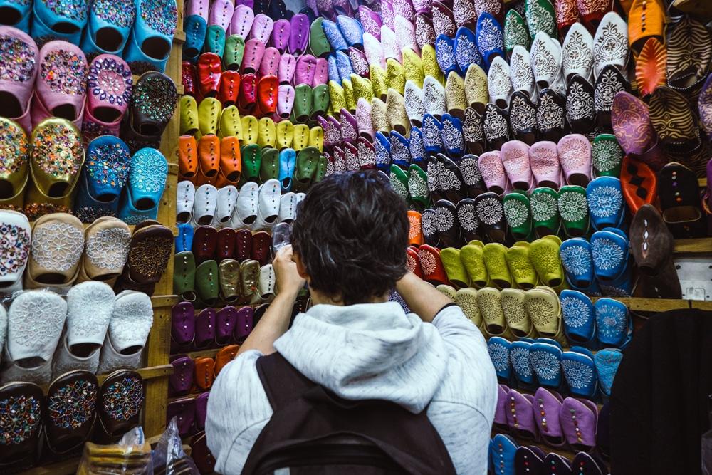 Guia i consells per comprar als socs de Marràqueix i no morir en l'intent