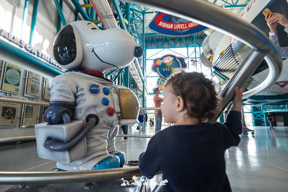 Visitar el Kennedy Space Center amb nens