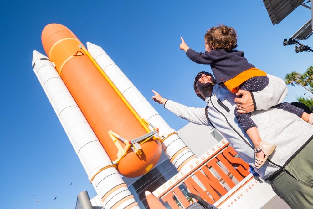 Visitar el Kennedy Space Center amb un bebè