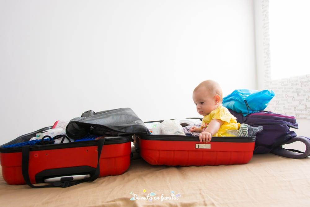 maleta per viatjar amb nens