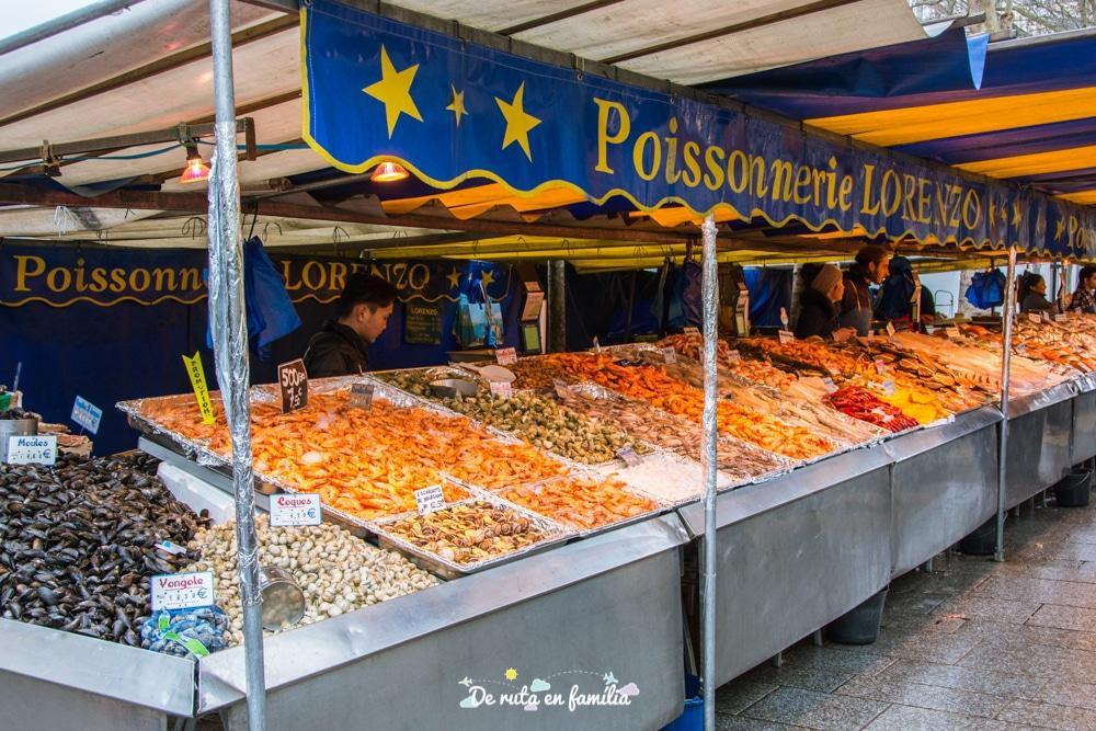 mercat de la bastilla a París