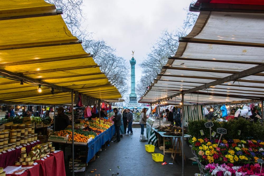 Escapada a París. Passejant pel mercat de la Bastilla