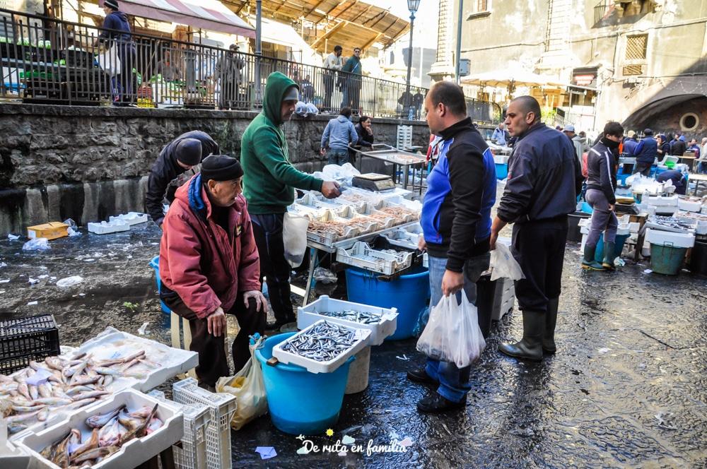 La Pescheria mercat de Catània