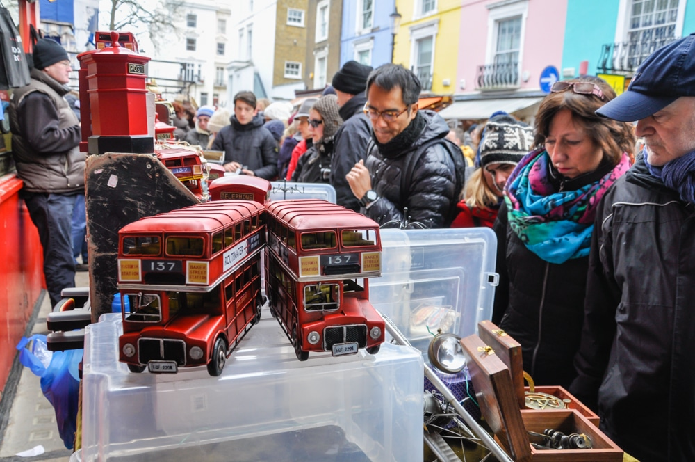 Portobello Market i Camden Town: dos mercats imprescindibles de Londres