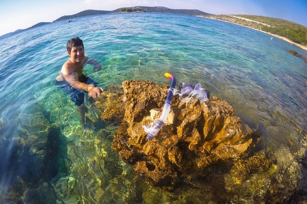 Ruta per Croàcia (IV): Primosten i Bilo, les millors platges de Croàcia