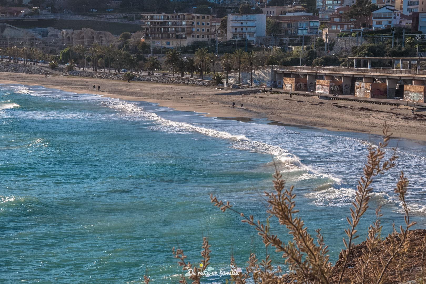 millors platges de Tarragona el miracle