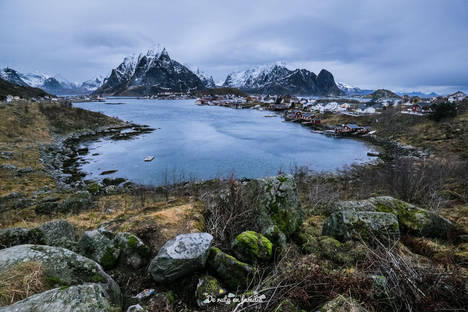 millors pobles de les illes lofoten reine