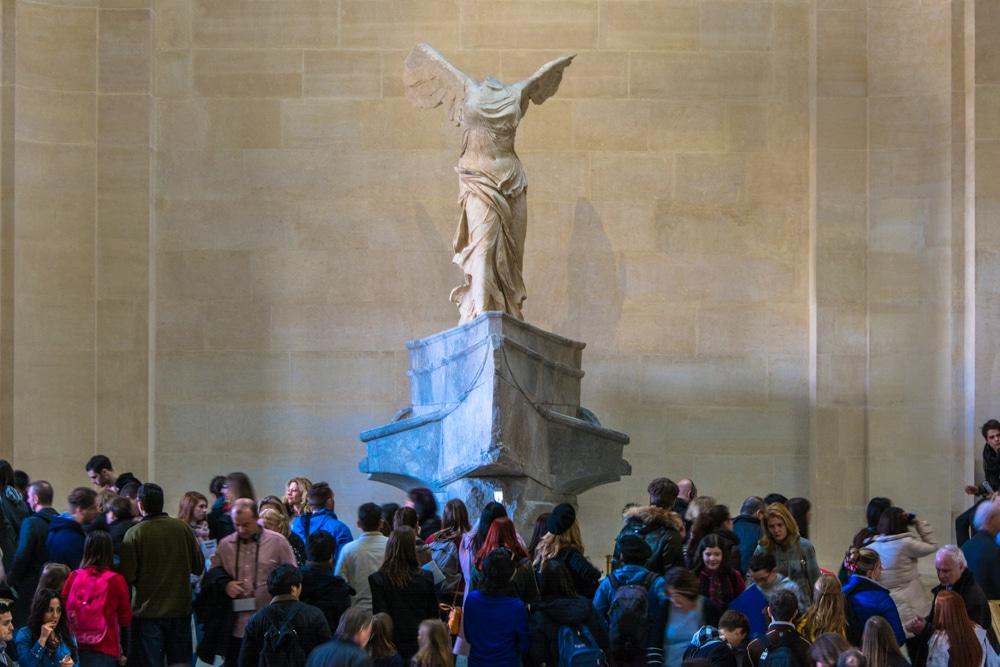 Escapada a París. Un matí visitant el Museu del Louvre
