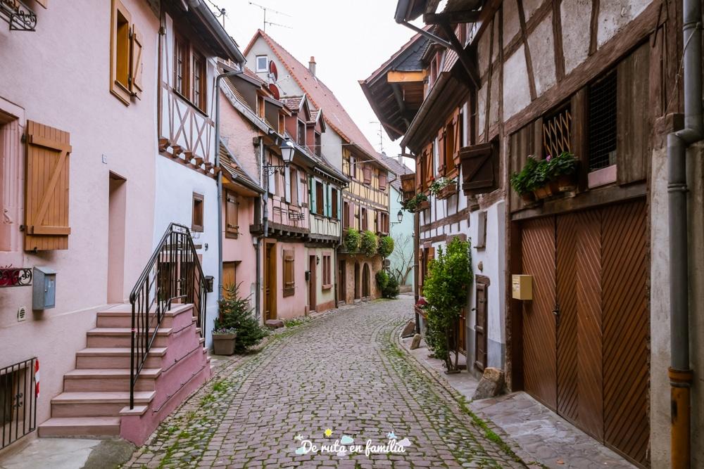pobles més bonics de l'Alsàcia per Nadal, Eguisheim