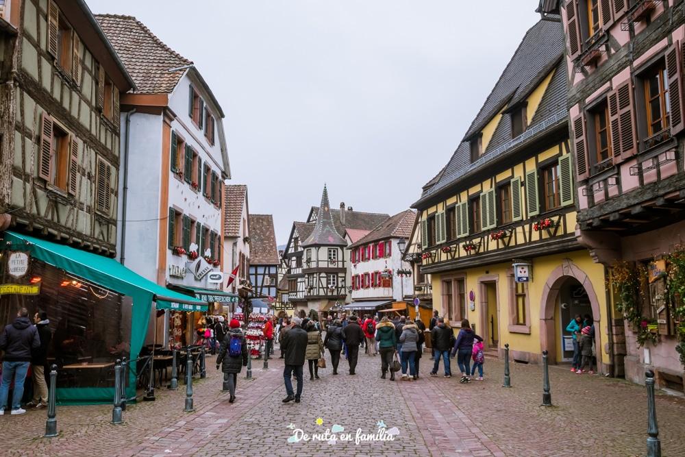 pobles més bonics de l'Alsàcia per Nadal, Kayserberg