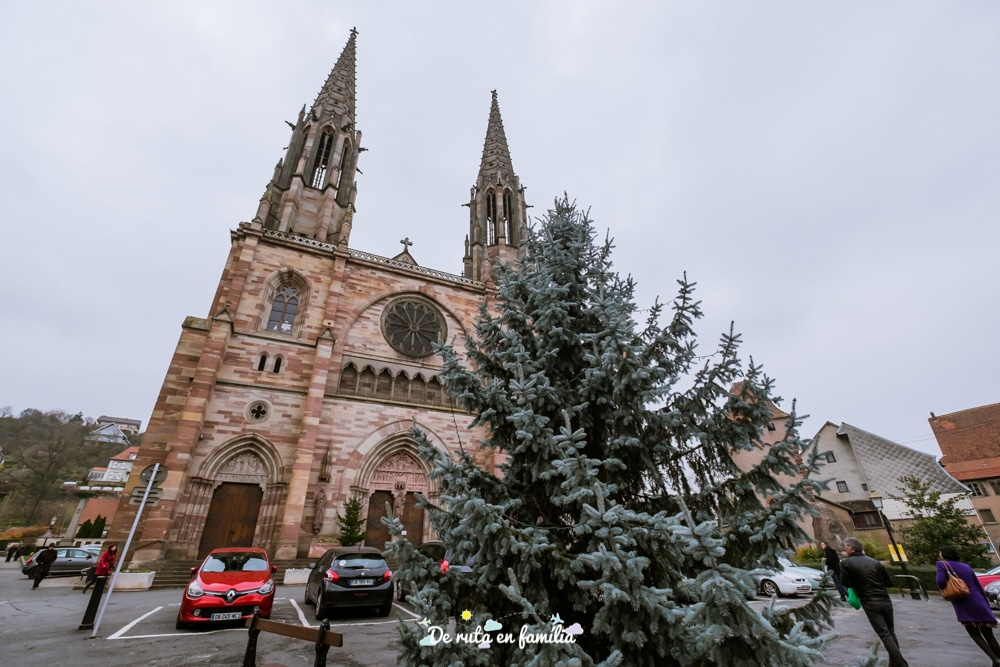 pobles més bonics de l'Alsàcia per Nadal, Obernai