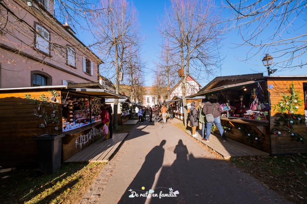 pobles més bonics de l'Alsàcia per Nadal, Riquewihr