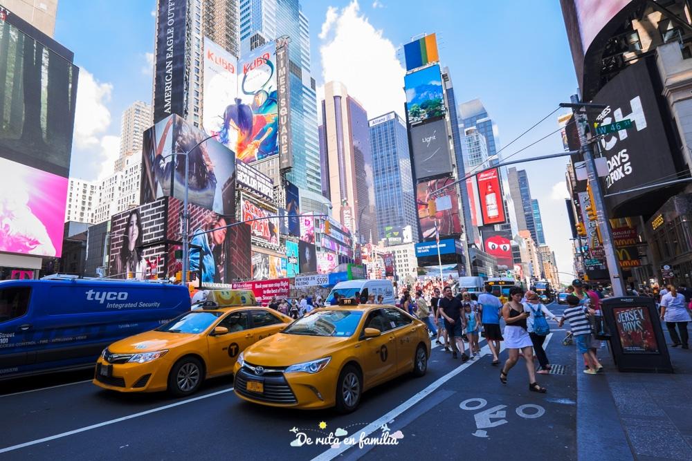 nova york times square