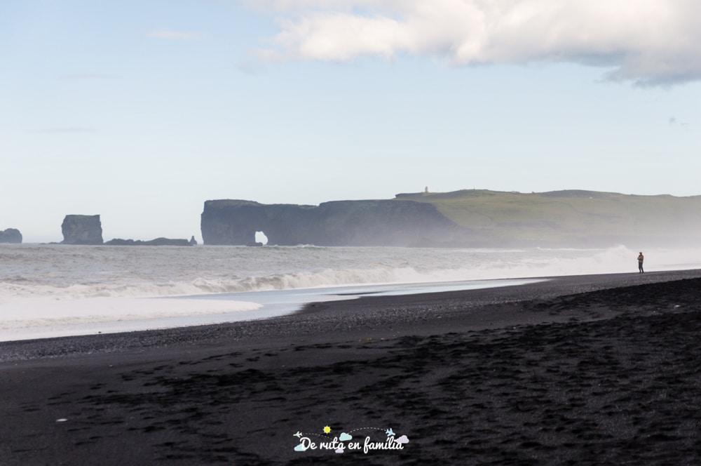 platja negra islandia Reynisfjara