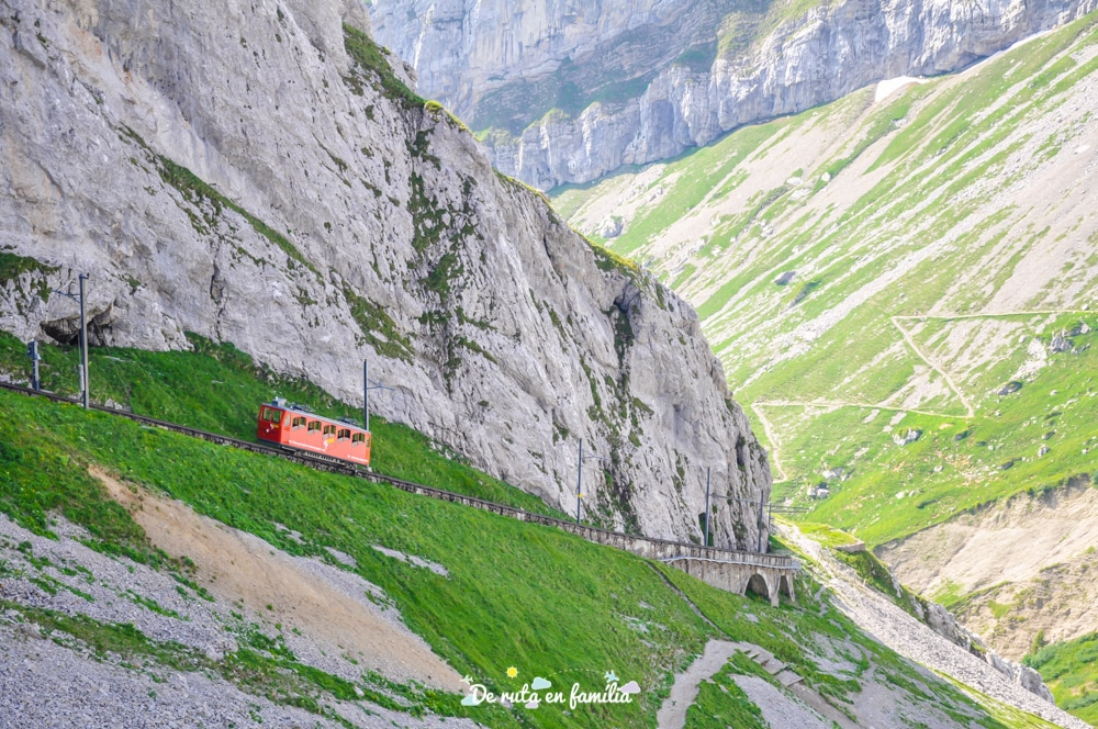 pujada al mont pilatus des de Lucerna