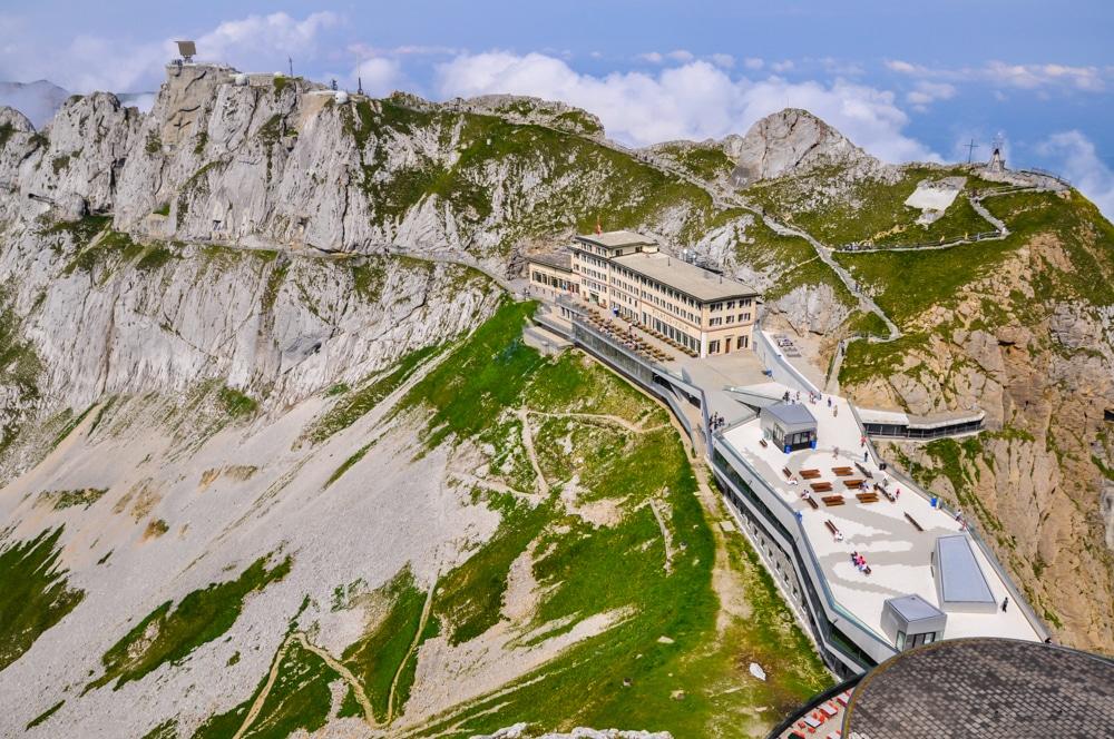 El gran mirador de Suïssa. Ascens a la muntanya Pilatus des de Lucerna