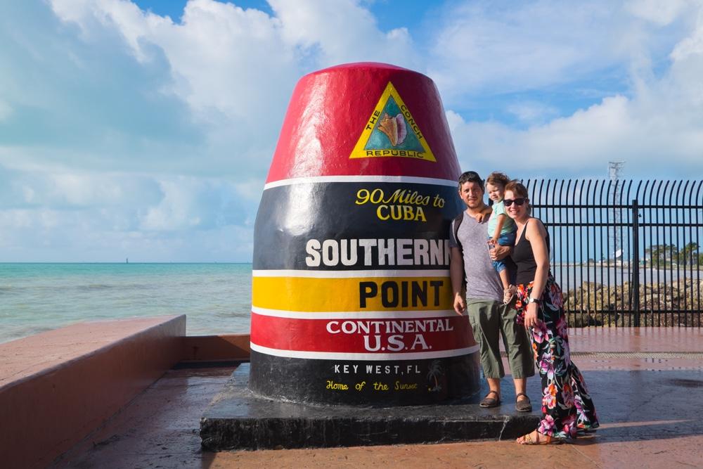 Ruta de 2 dies pels Cayos de Florida. De Miami a Key West
