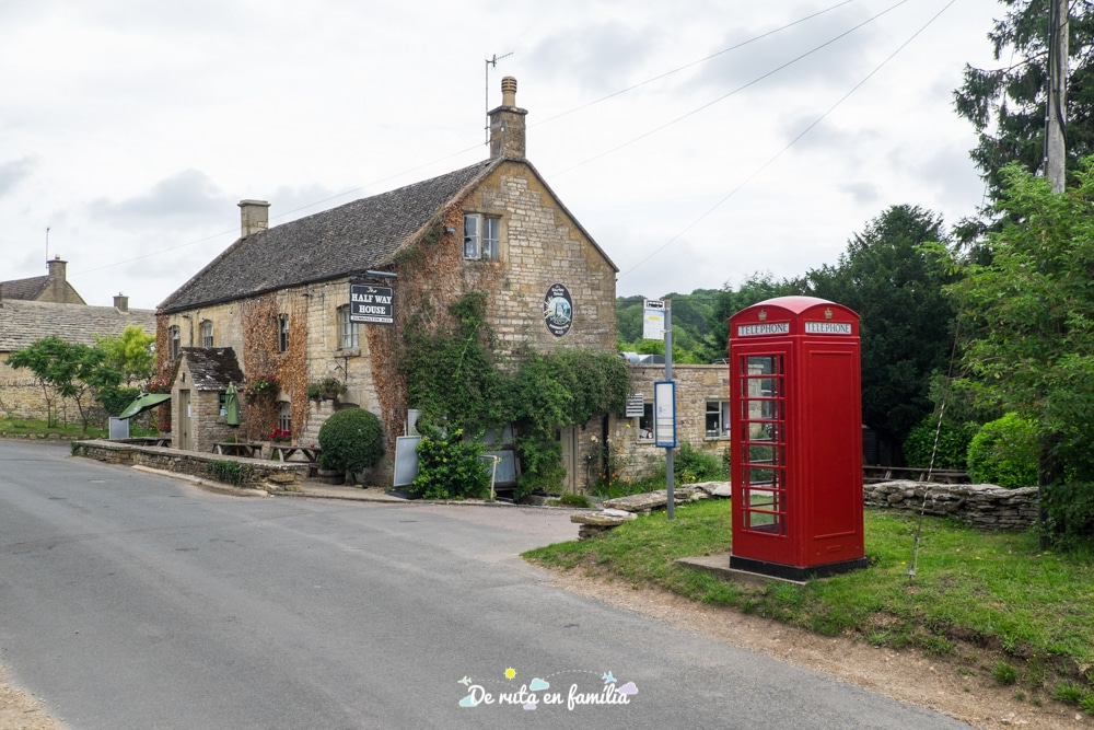 on dormir als Cotswolds