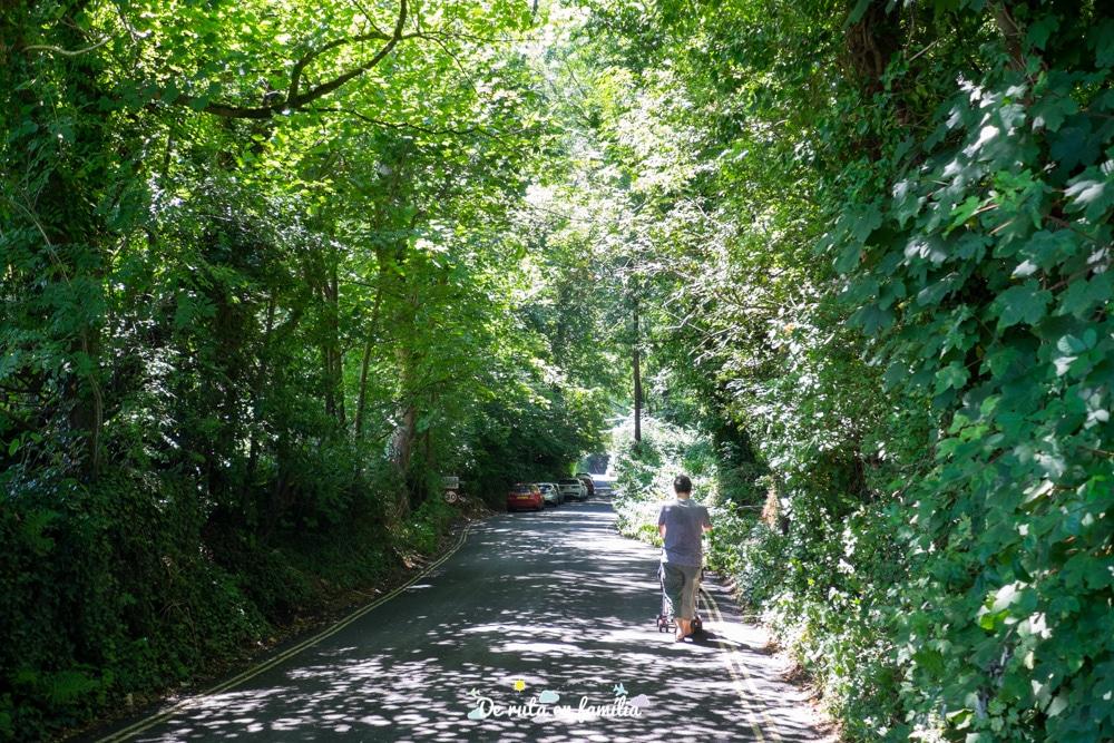 ruta pels cotswolds visitar Castle Combe