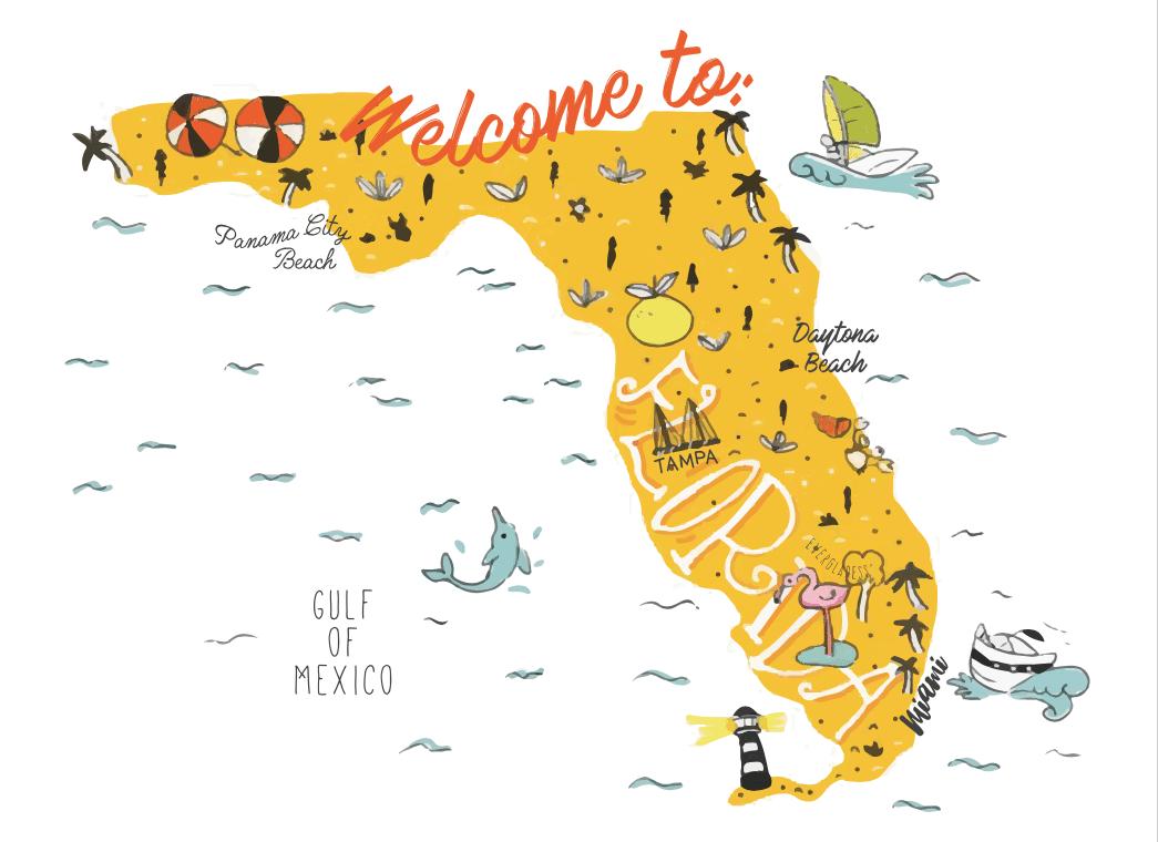 Preparatius d'una ruta per Florida de 12 dies viatjant amb un bebè de 21 mesos