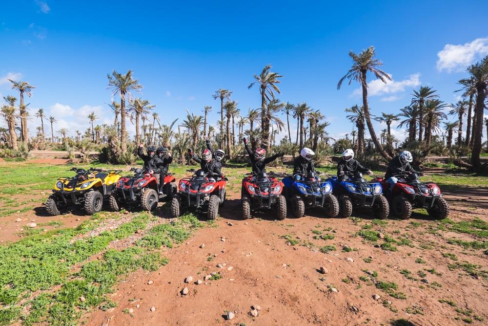 Ruta en quad pel Palmeral i el desert de Marràqueix