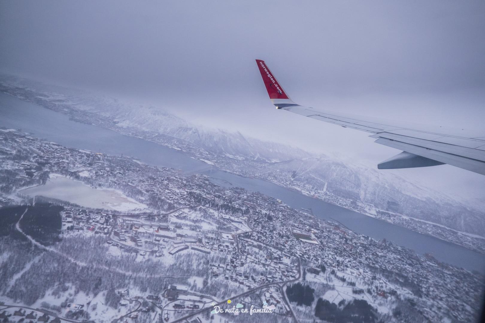 Com anar de l'aeroport de Tromso al centre de la ciutat