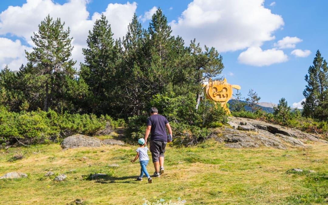 Activitat per fer a Andorra amb nens. Troba el tamarro